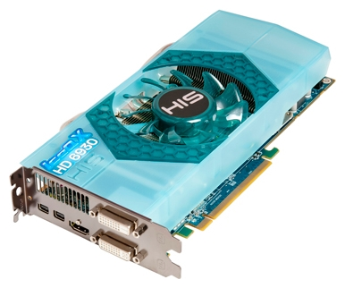 HIS Radeon HD 6930 750Mhz PCI-E 2.1 1024Mb 4800Mhz 256 bit 2xDVI HDMI HDCP