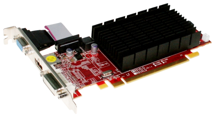 PowerColor Radeon HD 6450 625Mhz PCI-E 2.1 1024Mb 1334Mhz 64 bit DVI HDMI HDCP