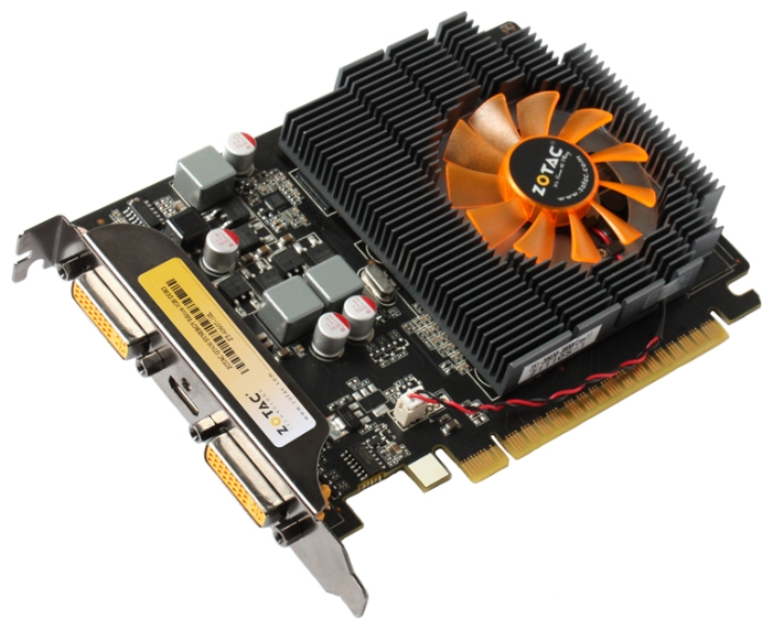 ZOTAC GeForce GT 430 700Mhz PCI-E 2.0 1024Mb 1333Mhz 128 bit 2xDVI Mini-HDMI HDCP